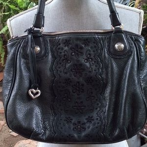 Black Brighton sachet bag
